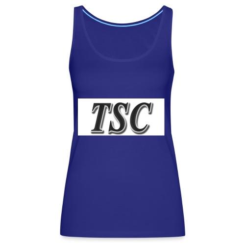 TSC Black Text - Women's Premium Tank Top
