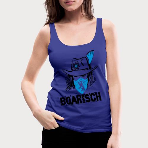 Boarisches Mädl - Frauen Premium Tank Top