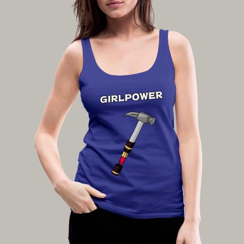 GIRLPOWER - Débardeur Premium Femme