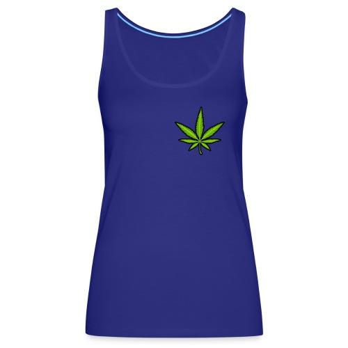 leaf logo - Women's Premium Tank Top