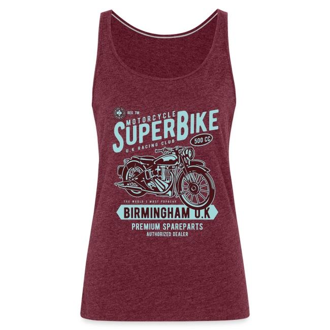T-Shirt Moto Vintage années 50/60
