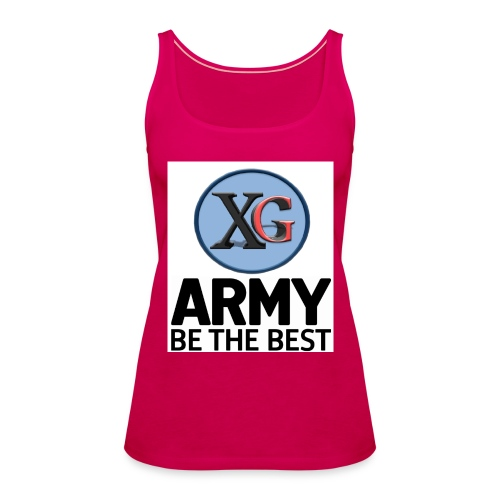 xg t shirt jpg - Women's Premium Tank Top