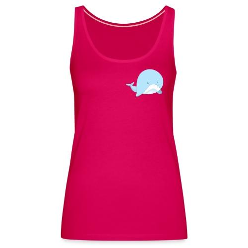 Whale - Canotta premium da donna