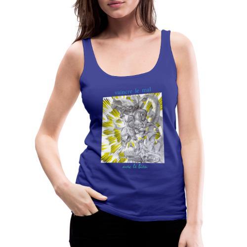 C13 - Camiseta de tirantes premium mujer