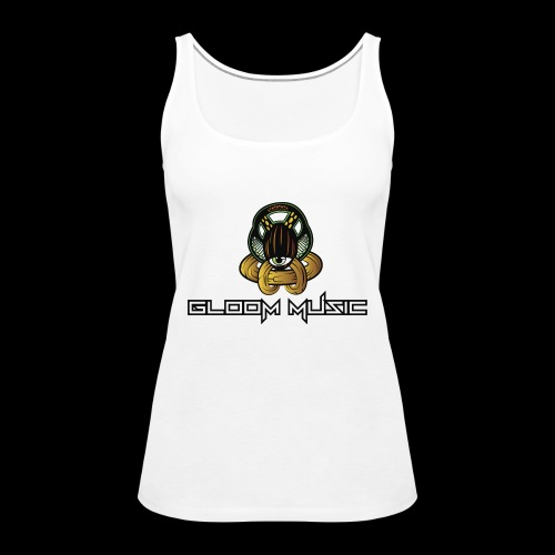 GLOOM MUSIC LOGO COLOR - Women's Premium Tank Top