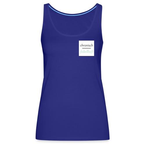 chronisch fabelhaft Logo mint - Frauen Premium Tank Top