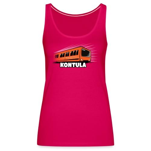 06-KONTULA HELSINKI tekstiili- ja lahjatuotteet - Naisten premium hihaton toppi