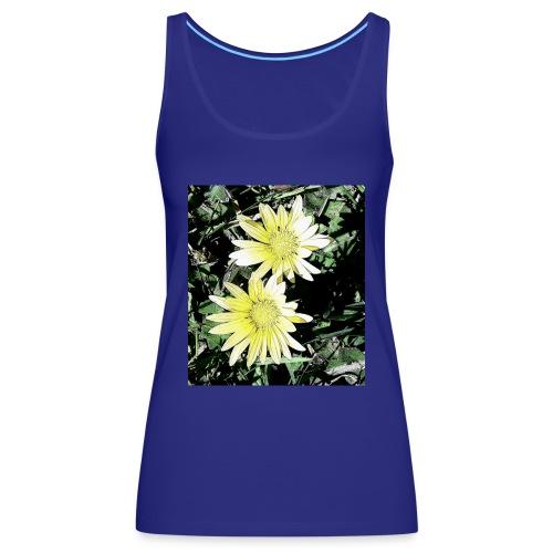 Flores silvestres - Camiseta de tirantes premium mujer