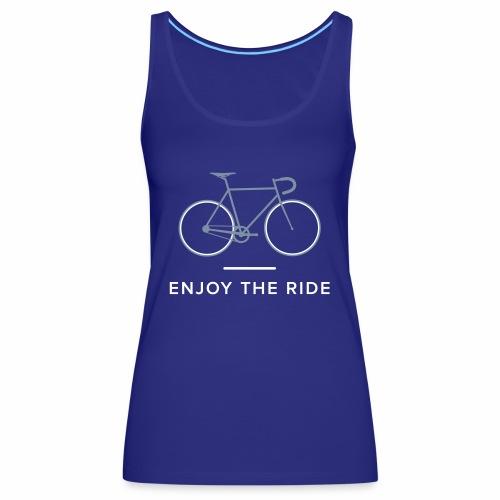 Vintage Racing Bike Retro Cycle - Women's Premium Tank Top