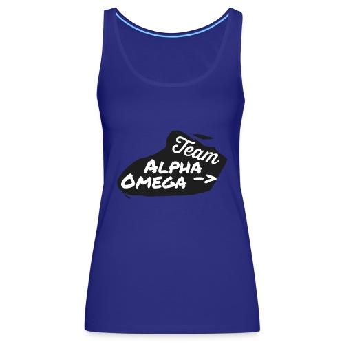 Team_Alpha Omega - Frauen Premium Tank Top