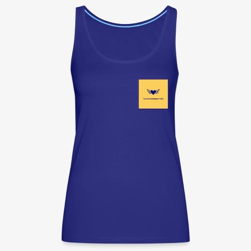 Aaronsuniquevids Original Logo #3 - Women's Premium Tank Top