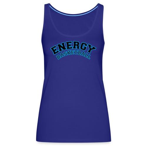 street wear logo nero energy basketball - Canotta premium da donna