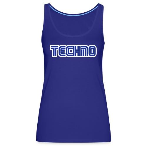 Techno 2 - Women's Premium Tank Top