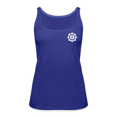 Jebus Adventures Cog White - Women's Premium Tank Top