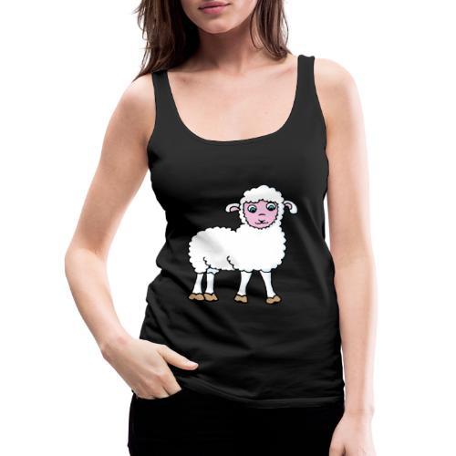 Minos le petit agneau - Débardeur Premium Femme