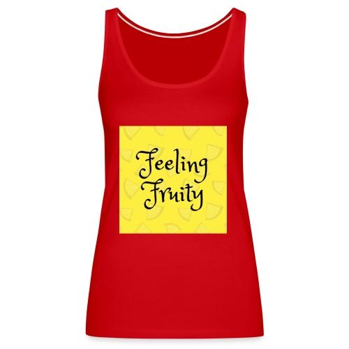 FeelingFruity tops - Women's Premium Tank Top