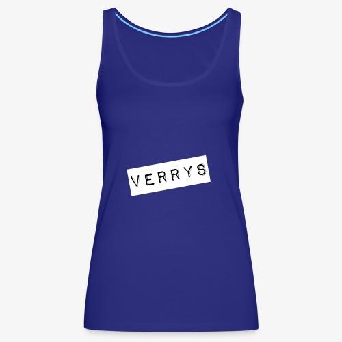 Verrys - Camiseta de tirantes premium mujer