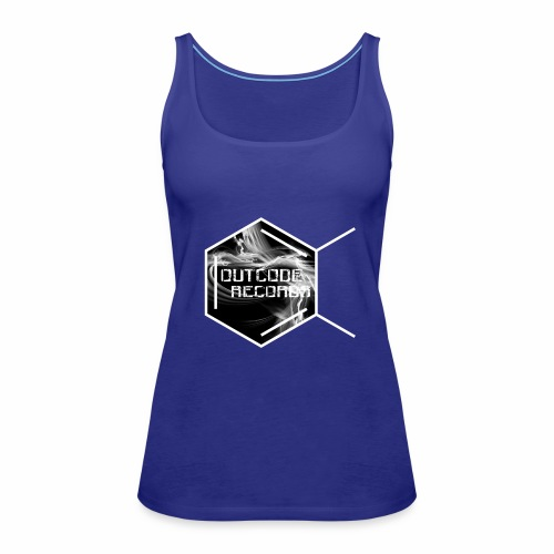 Outcode Records - Camiseta de tirantes premium mujer