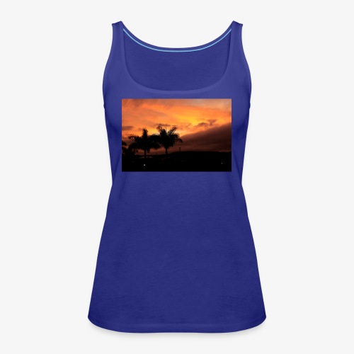 Atardecer - Camiseta de tirantes premium mujer