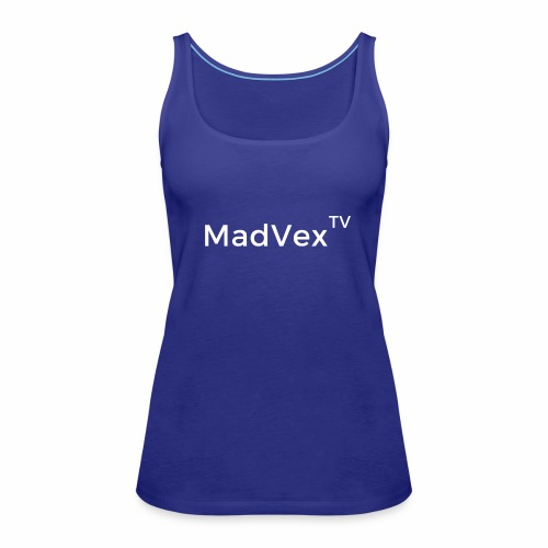 MadVexTV Schriftzug - Frauen Premium Tank Top