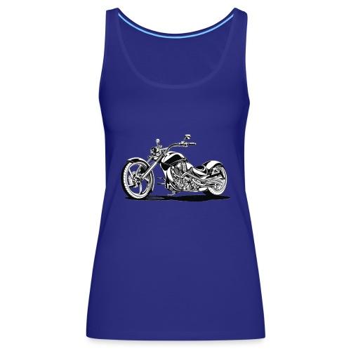 motorrad fertig 1 - Frauen Premium Tank Top