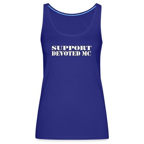 T-Shirt SUPPORT DEVOTEDMC SHOP 1 - Premium singlet for kvinner