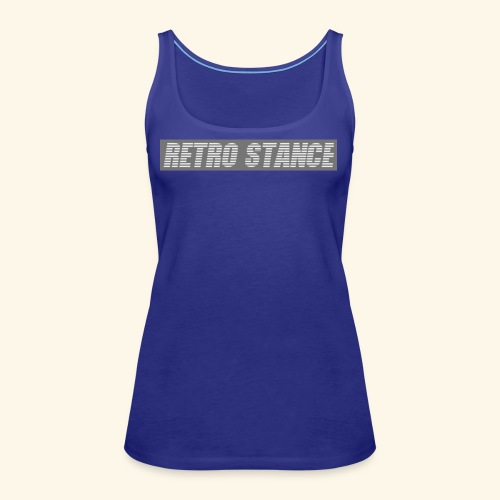 Retro Stance - Women's Premium Tank Top