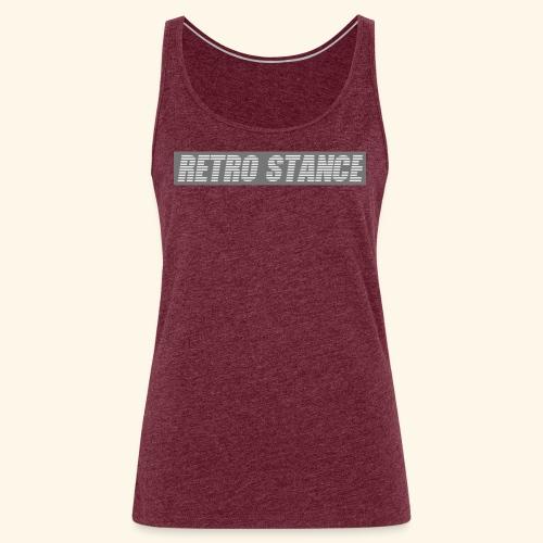 Retro Stance - Women's Premium Tank Top