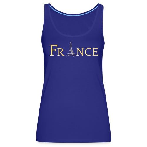 t-shirt paris - Débardeur Premium Femme