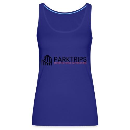 Park Trips - Logo Noir - Débardeur Premium Femme