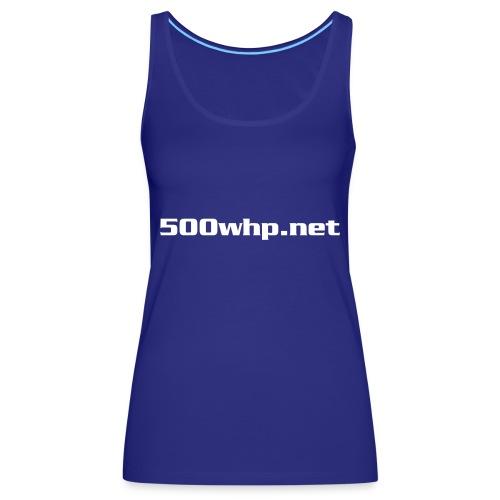 500whpcs1 - Naisten premium hihaton toppi