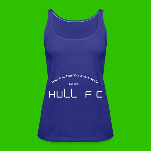 Hull FC Joy [White] - Women's Premium Tank Top
