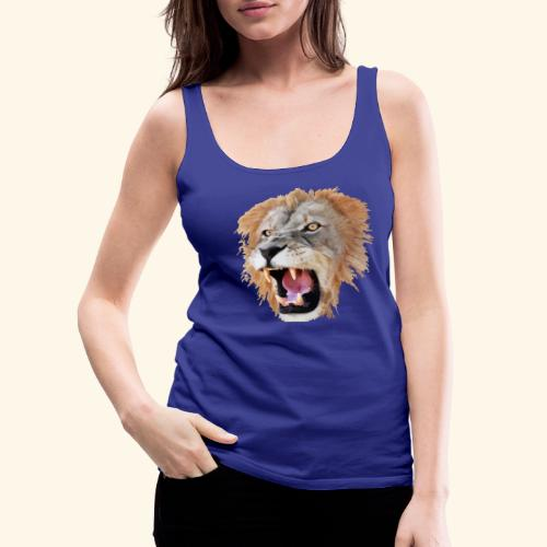 Tête de lion - Débardeur Premium Femme