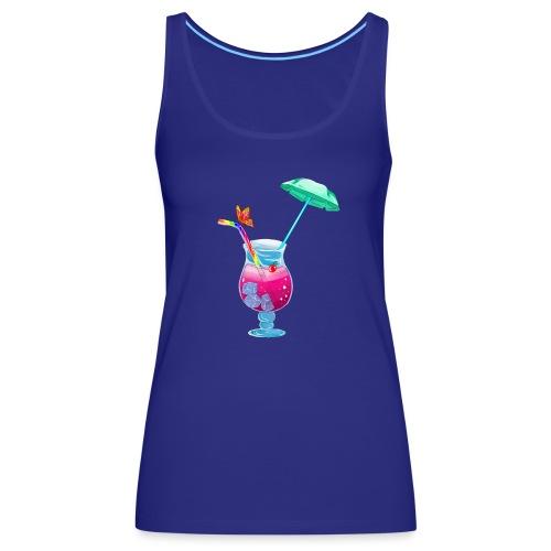 Cocktail estival - Débardeur Premium Femme
