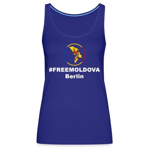 #freemoldowa - Frauen Premium Tank Top
