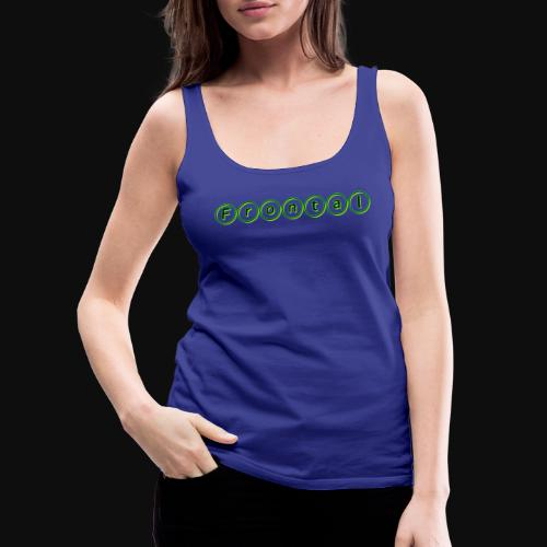 ƒяσηтαℓ (green) - Frauen Premium Tank Top