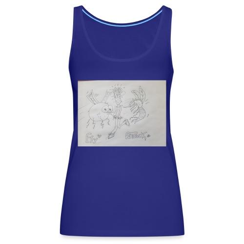 15342616025805381940484396166323 - Camiseta de tirantes premium mujer