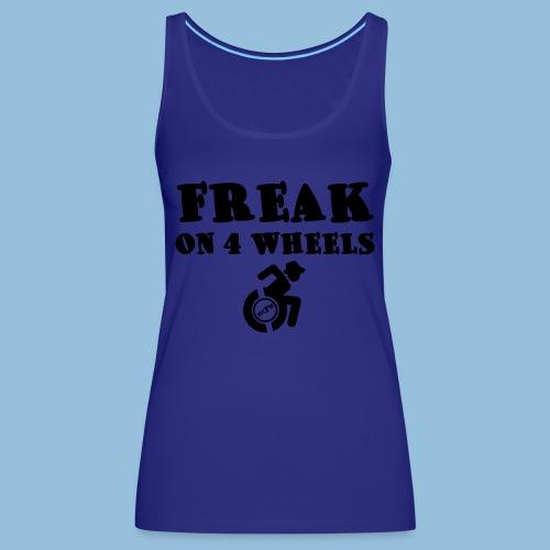 Freakon4wheels2 - Vrouwen Premium tank top