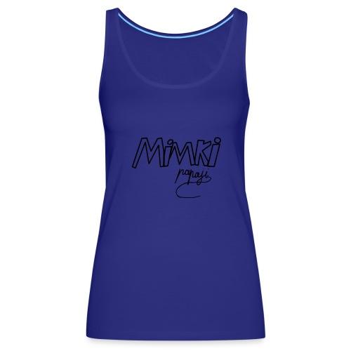 Mimki papaji #2 official logo - Women's Premium Tank Top