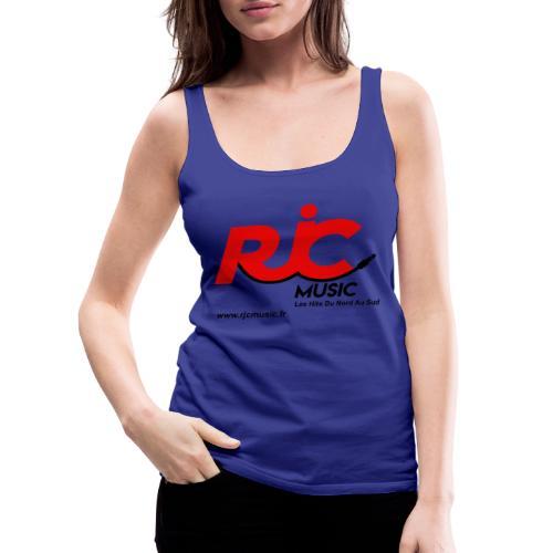 RJC Music avec site - Débardeur Premium Femme