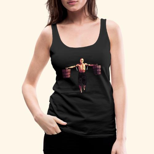 Shaolin Warrior Monk - Vrouwen Premium tank top