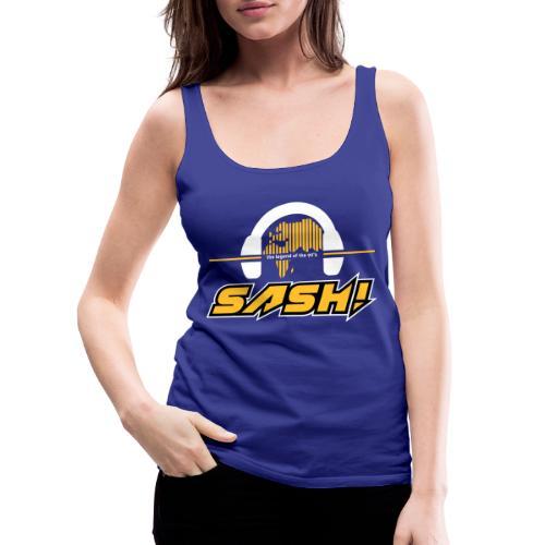 SASH! Logo 2020 Headfone - Women's Premium Tank Top