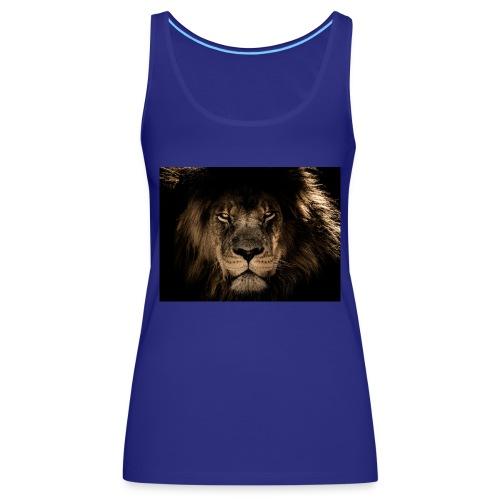 african lion 2888519 1920 - Frauen Premium Tank Top