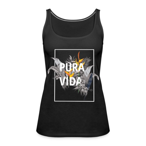 Pura vida / camisetas pura vida /pura vida t-shirt - Camiseta de tirantes premium mujer