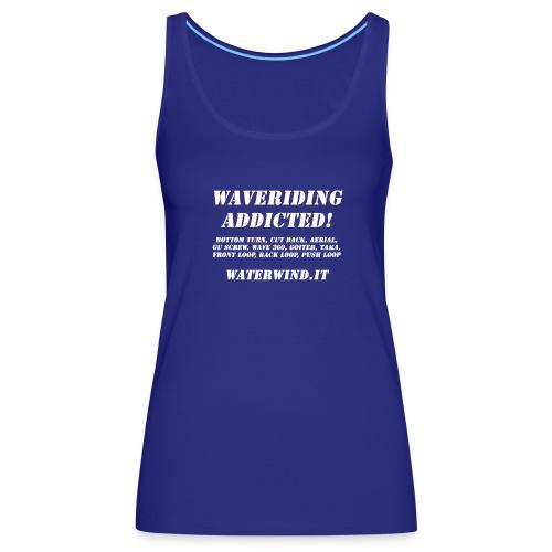 waveriding add bianco - Women's Premium Tank Top