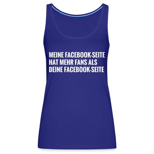 Facebook Vergleich - Frauen Premium Tank Top