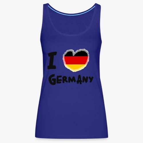 I Love Germany!!! - Frauen Premium Tank Top