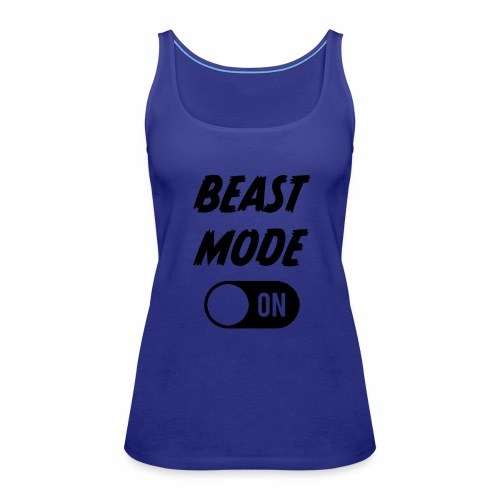Ruokatauon Beast Mode - Naisten premium hihaton toppi