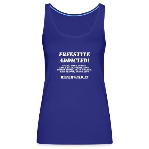 freestyle addicted - Women's Premium Tank Top