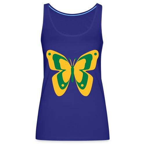 Schmetterling Falter Insekten Frühling Sommer - Women's Premium Tank Top